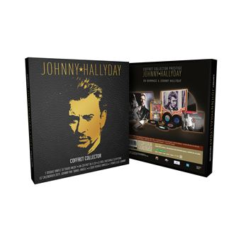 Coffret Johnny Hallyday Edition Collector Prestige Limitée DVD