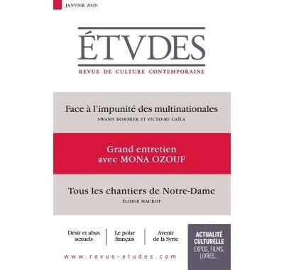 Etudes 4267 - Janvier