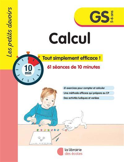 Les petits devoirs Calcul GS