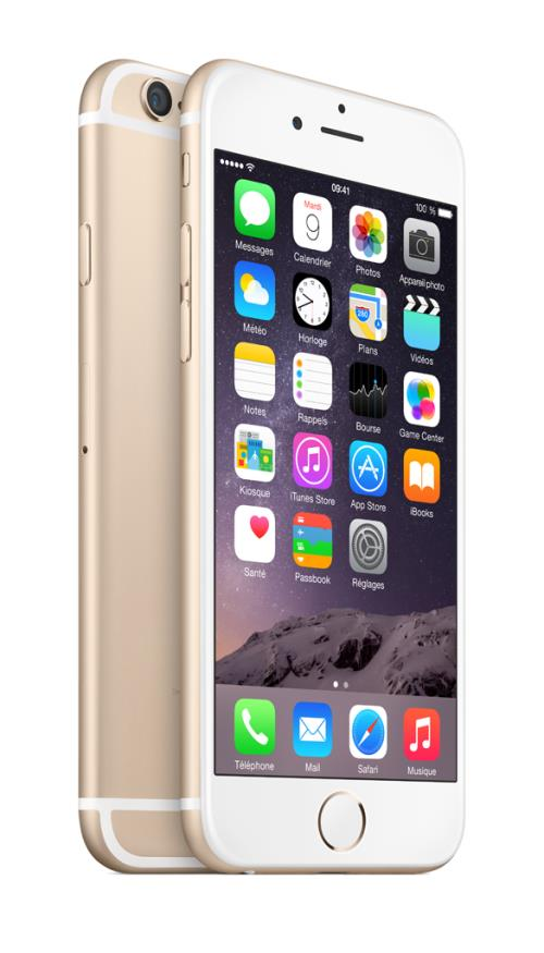 Apple iPhone 6 64 Go 47´´ Or Reconditionné Grade A sans boîte ni accessoires