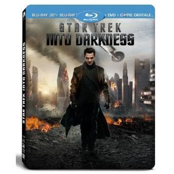 Star TrekStar Trek Into Darkness Combo Blu-Ray 3D + DVD Edition Steelbook