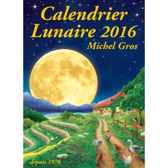 acheter calendrier lunaire 2016