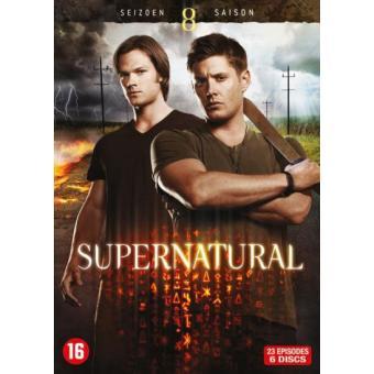 SupernaturalCoffret intégral de la Saison 8 - DVD