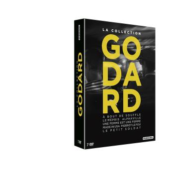 COLLECTION GODARD-7DVD-FR