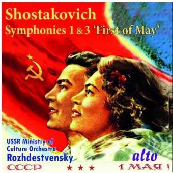 "Symphony no.1 & 3 ""first"