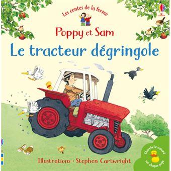 Poppy et SamLe tracteur dégringole