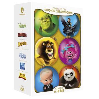 Coffret Dreamworks 6 Films DVD