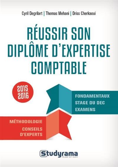 Réussir son diplôme d'expertise comptable - 9782759031801 - 6,99 €