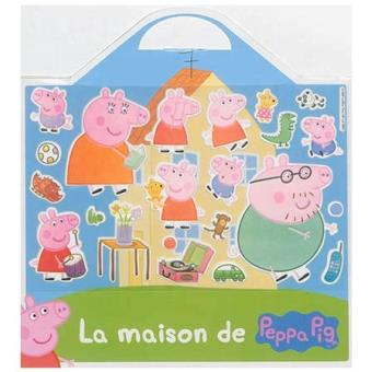 peppa pig valisette 20 stickers repositionnables la. Black Bedroom Furniture Sets. Home Design Ideas
