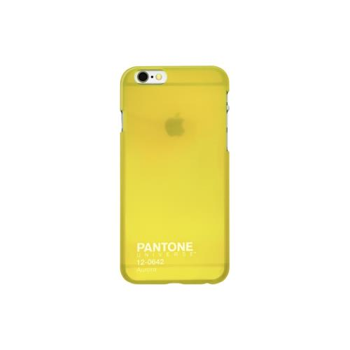 Coque Pantone pour iPhone 6 Jaune