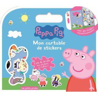 regarder 0fd1c cb7b2 Peppa Pig - : Les petits pirates Peppa Pig - Mon cartable de stickers