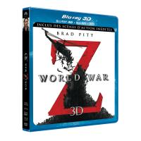 World War Z Combo Blu-Ray 3D + DVD