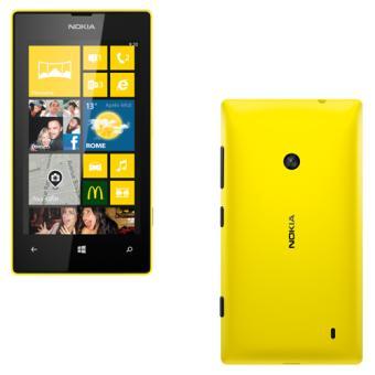 Smartphone NOKIA LUMIA 520 JAUNE 8GO