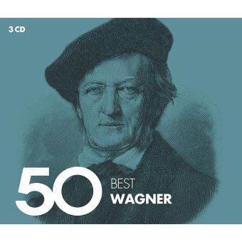 50 BEST WAGNER/3CD