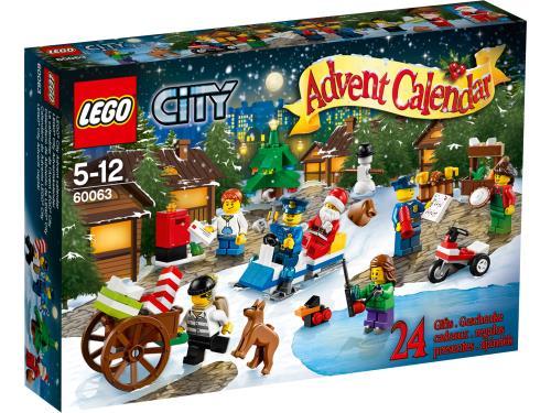 LEGO® City 60063 Le calendrier de l'Avent LEGO® City