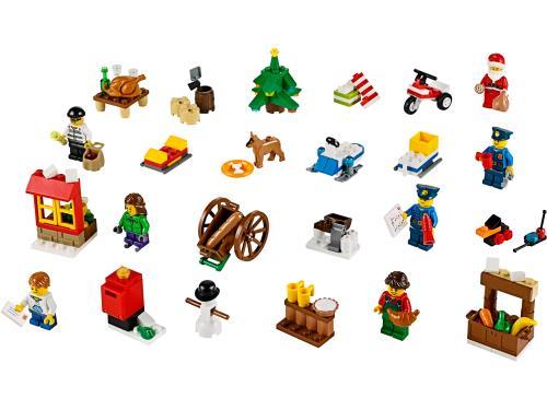 Lego® City Calendrier 60063 Le L'avent De kOuPXZi