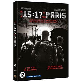 Le 15h17 pour Paris DVD