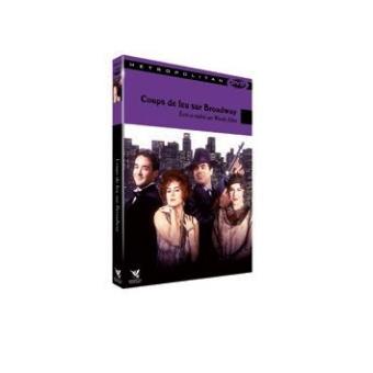 Coup de feu sur Broadway DVD