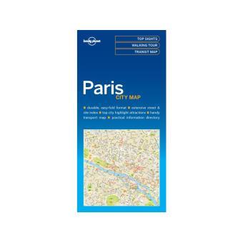 PARIS CITY MAP 2016 LONELY PLANET