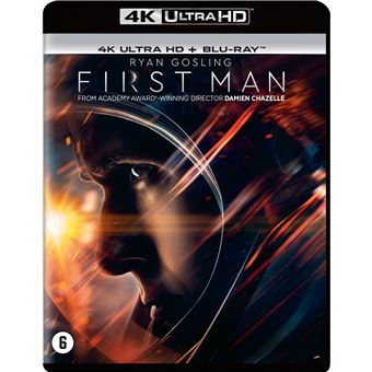 First man (Le premier homme sur la lune)-BIL-BLURAY 4K
