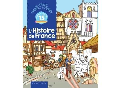 L'histoire de France à colorier
