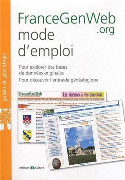 FranceGenWeb.org mode d'emploi