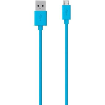 Câble Micro-USB Belkin 2 m Bleu