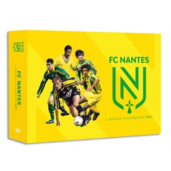 L'Agenda calendrier FC Nantes 2021   relié   Collectif   Achat