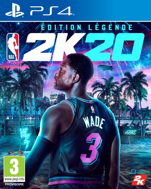 NBA 2K20 Edition Légende PS4