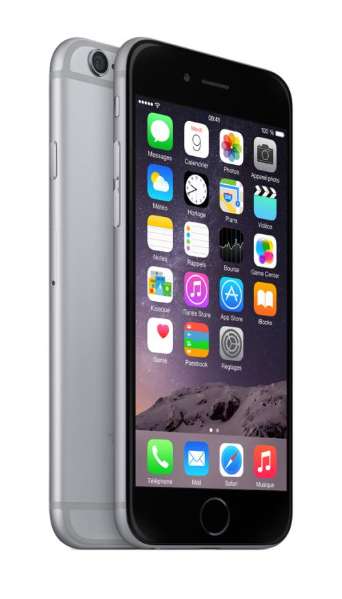 Apple iPhone 6 64 Go 4.7 gris sidéral