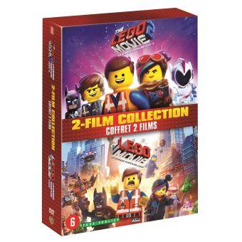 La grande aventure LegoCoffret La Grande Aventure Lego 1 et 2 DVD