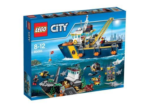 LEGO® City 60095 Bateau d'Exploration