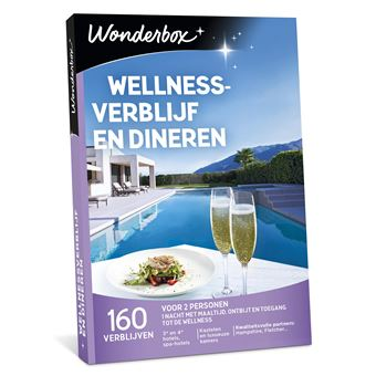 WONDERBOX WELLNESSVERBLIJF EN DINEREN