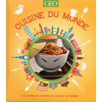 livre cuisine monde