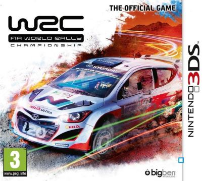 WRC FIA World Rally Championship Nintendo 3DS