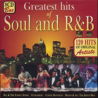 Greatest Hits of Soul and R&B 120 Titres Originaux Coffret