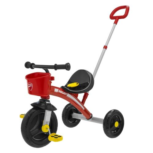 Tricycle Chicco U/Go Ducati - Tricycle. Achat et vente de jouets, jeux de société, produits de puériculture. Découvrez les Univers Playmobil, Légo, FisherPrice, Vtech ainsi que les grandes marques de puériculture : Chicco, Bébé Confort, Mac Laren, Babybjö