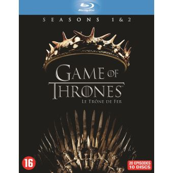 GAME OF THRONES / TRONE DE FER S1+S2-BIL-BLURAY