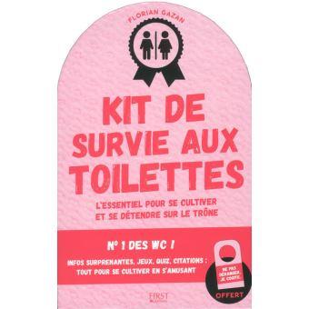 Kit de survie aux toilettes