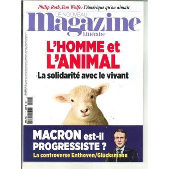 Nouveau magazine litteraire,06:l'homme et l'animal