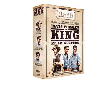 Coffret Westerns Elvis Presley DVD