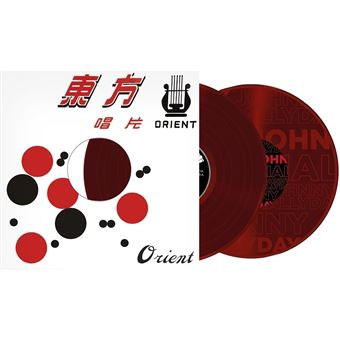 Made in chine/promo vinyle grave rouge á