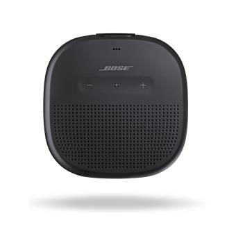 enceinte bluetooth bose soundlink micro noire mini. Black Bedroom Furniture Sets. Home Design Ideas