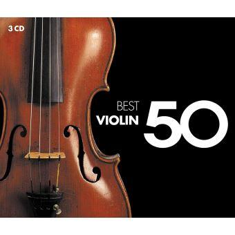 50 BEST VIOLIN/3CD