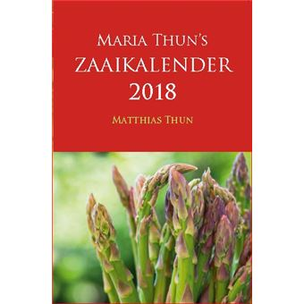 Maria Thun's Zaaikalender 2018