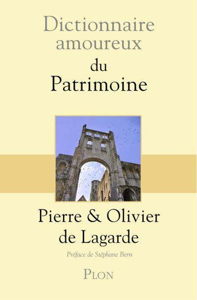 Dictionnaire amoureux du patrimoine - 9782259278591 - 17,99 €