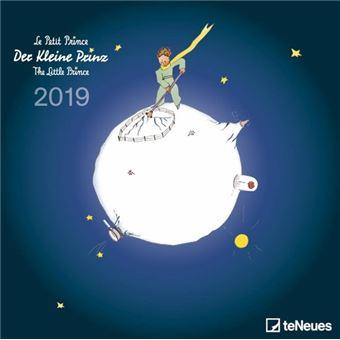 2019 The Little Prince Grid Calendar