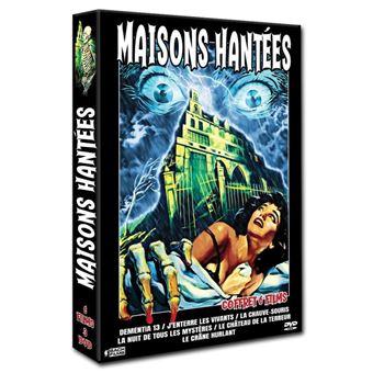 Coffret Maisons Hantées 6 Films DVD