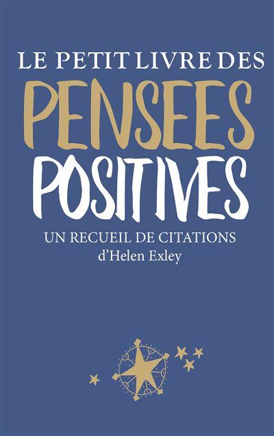 Petit livre des pensées positives