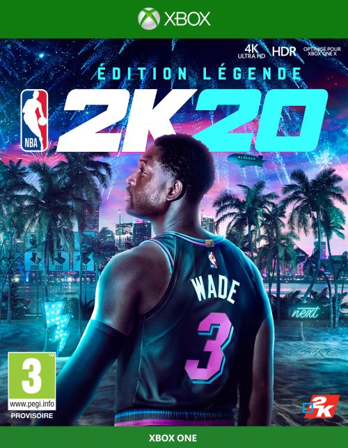 NBA 2K20 Edition Légende Xbox One